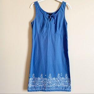 🌻 AMERICAN EAGLE - blue flowered dress - size 6